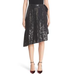Diane von Furstenberg | Brenndah Asymmetrical Sequin Wrap Skirt | Nordstrom Rack
