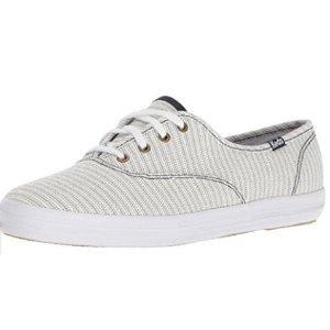 Amazon.com | Keds Women's Champion Railroad Stripe Fashion Sneaker | Fashion Sneakers
