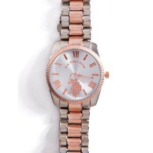 Chain link watch - U.S. Polo Assn.