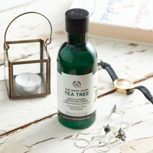 50% Off + Free ShippingTea Tree Collection @ The Body Shop