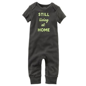 Baby Boy Still Living At Home Jumpsuit | Carters.com