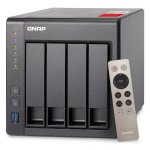QNAP TS-451+ 4-Bay Next Gen Personal Cloud NAS, Intel 2.0GHz Quad-Core CPU with Media Transcoding