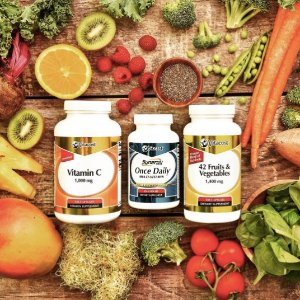 20% OffSelect Vitacost Brand Vitamins, Supplements & Herbs @ VitaCost
