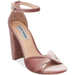 Steve Madden Women's Clever Block-Heel Sandals - Sandals - Shoes - Macy's