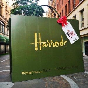 30% Off + VAT RefundFashion Sale Preview @ Harrods