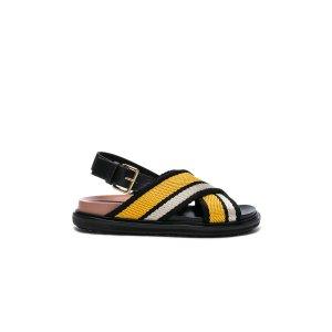 Marni Fussbett Sandals in Sun