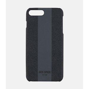 Racing Stripe Snap Case Iphone 7 Plus - JackSpade