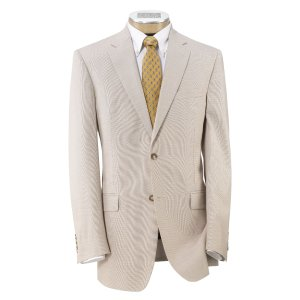 Tropical Blend Tailored Fit 2-Button Suit with Plain Front Trousers - Big & Tall CLEARANCE - All Clearance | Jos A Bank