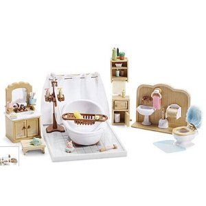Calico Critters Deluxe Bathroom Play Set | zulily