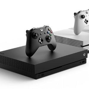 $499 预售微软 Xbox One X 天蝎座 标准版 1TB 主机