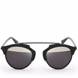 Dior So Real Split Lens Mirrored Sunglasses, 48mm | Bloomingdale's