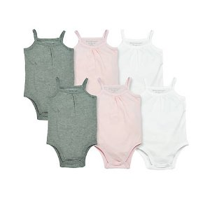 Classic bodysuit 6-pack - Burts Bees Baby