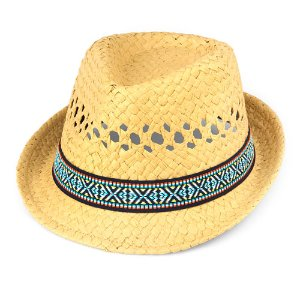 Boys Chinle Band Open Weave Straw Hat   The Children's Place