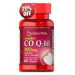 Puritan's Pride Q-SORB Co Q-10 100mg, 60 Softgels
