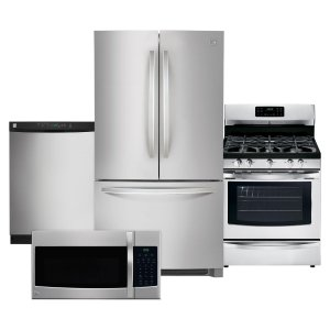 $2099Kenmore 4 Piece Kitchen Package - Stainless Steel