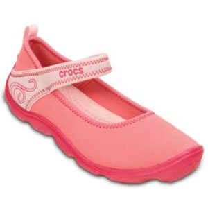 Crocs Girls' Duet Busy Day Mary Jane (juniors') | Girls' Comfortable Shoes | Crocs Official Site