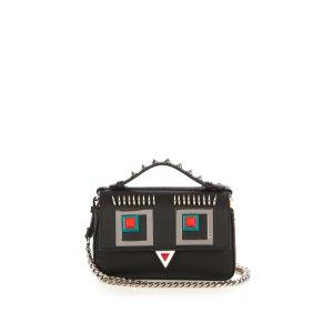 Double Micro Baguette Hypnoteyes cross-body bag | Fendi