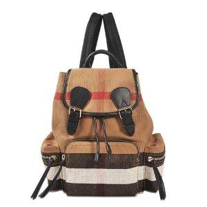 Medium Check backpack