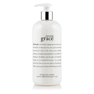 amazing grace | perfumed firming body emulsion | philosophy amazing grace