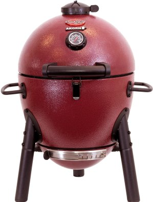 $109Akorn Kamado 红色紧凑式碳烤炉