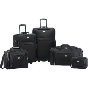 Samsonite Nobscot 5 Piece Luggage Set - Black | eBay