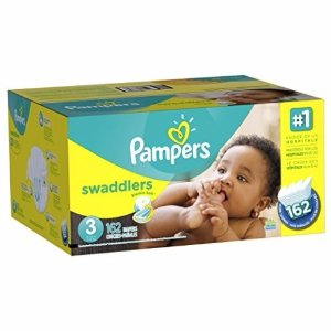 $17.07 Pampers Swaddlers Diapers Size 3, 180 Count