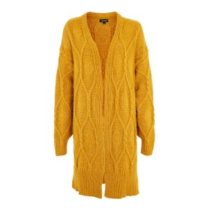 Longline Cable Knit Cardigan - New In Fashion - New In