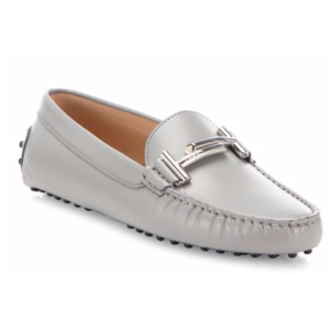 Tod's - Gommini Maxi Leather Drivers - saks.com