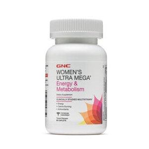 女士综合维生素,能量活力款 GNC Women's Ultra Mega® Energy & Metabolism