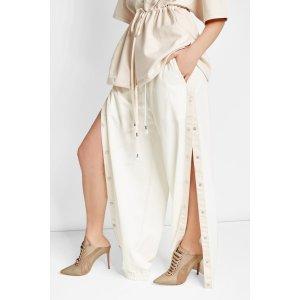 Leather and Suede Mules - FENTY Puma by Rihanna | WOMEN | US STYLEBOP.COM