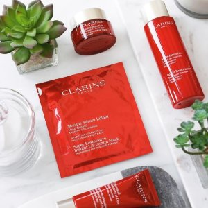 20% Offwith Clarins Purchase @Bon-Ton