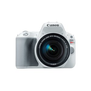 Canon EOS Rebel SL2 White EF-S 18-55mm f/4-5.6 Kit