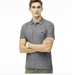 $76.99($110)Lacoste Men's Regular Fit Caviar Piqué Polo Shirt