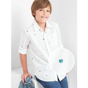 Planet convertible shirt