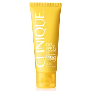 Clinique Broad Spectrum SPF Sunscreen 30 Oil-Free Face Cream