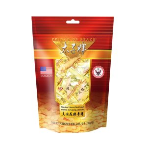 Prince of Peace American Ginseng Root Candy, 6oz