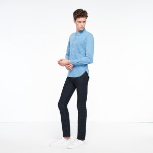 Vintage Denim Shirt - Shirts - Sandro-paris.com