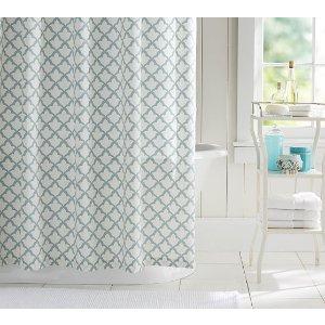 Marlo Organic Shower Curtain | Pottery Barn