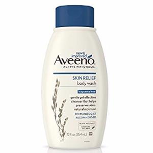 $6.45AVEENO Active Naturals Skin Relief Body Wash Fragrance Free 12 oz