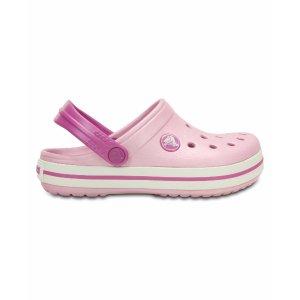 Ballerina Pink & Wild Orchid Crocband Clog - Toddler & Kids