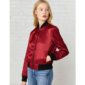 3x1 - Satin Collection Bomber Jacket - saks.com