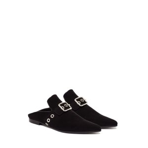 Lopal Suede Backless Loafers - Robert Clergerie X Self-Portrait