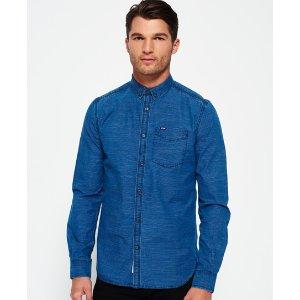 Superdry Indigo Loom Oxford Shirt - Men's Shirts