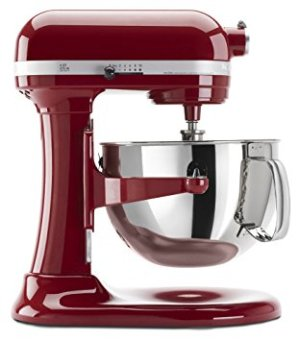 $209.99KitchenAid Professional 600 Series KP26M1XER Bowl-Lift Stand Mixer 6 Quart Reconditioned
