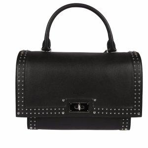 Givenchy - Givenchy Black Shark Small Tote Bag - BB05959681 SHARKSMALL001, Women's Shoulder Bags | Italist