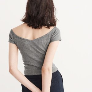 Starting at $4.2Women's Tops @ Abercrombie & Fitch