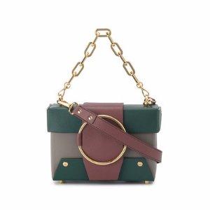 YuzefiMini Tri Colour Leather Asher box bag