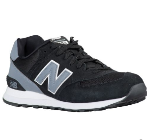 New Balance 574 Men's Running Shoes Black Sale