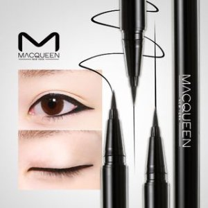 MACQUEEN Waterproof Pen Eyeliner (Deep Black) | YESSTYLE