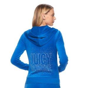 Juicy Couture 天鹅绒上衣